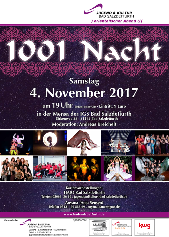 1001 Nacht 04.11.2017, Bad Salzdetfurth
