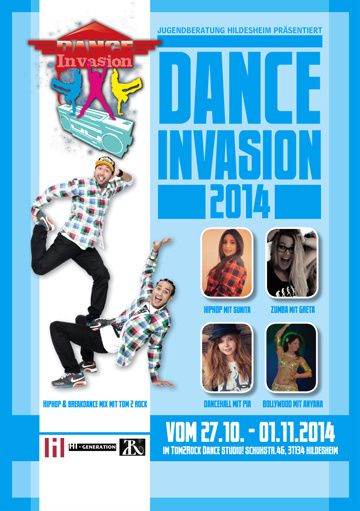 Dance Invasion 2014