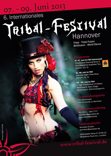 Tribal 2013 Plakat