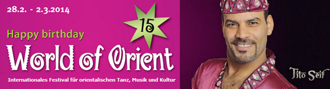 World of Orient 2014 Banner